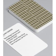 Смели Визитки с обли ъгли 100 броя вариант (20090)