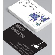 Смели Визитки с обли ъгли 100 броя вариант (20092)