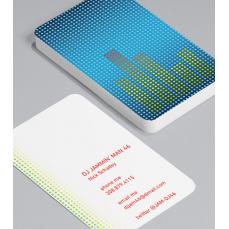 Смели Визитки с обли ъгли 100 броя вариант (20102)