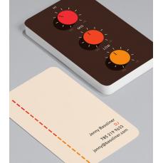 Смели Визитки с обли ъгли 100 броя вариант (20104)
