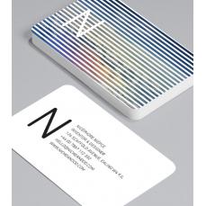 Смели Визитки с обли ъгли 100 броя вариант (20105)