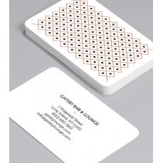 Смели Визитки с обли ъгли 100 броя вариант (20108)