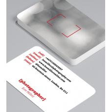 Смели Визитки с обли ъгли 100 броя вариант (20115)
