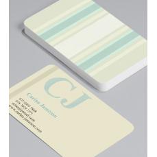 Смели Визитки с обли ъгли 100 броя вариант (20131)