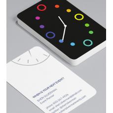 Смели Визитки с обли ъгли 100 броя вариант (20148)