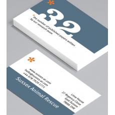 Бизнес Визитки 500 броя вариант (10011)